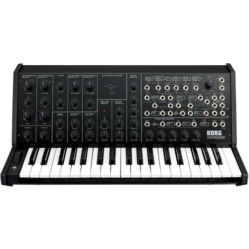 Korg MS-20 FS, Limited Edition Full Size Monophonic Synthesizer (Black)