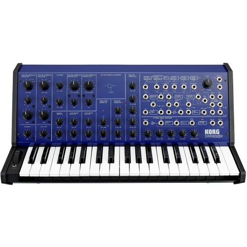 Korg MS-20 FS, Limited Edition Full Size Monophonic Synthesizer (Blue)
