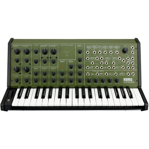 Korg MS-20 FS, Limited Edition Full Size Monophonic Synthesizer (Green)