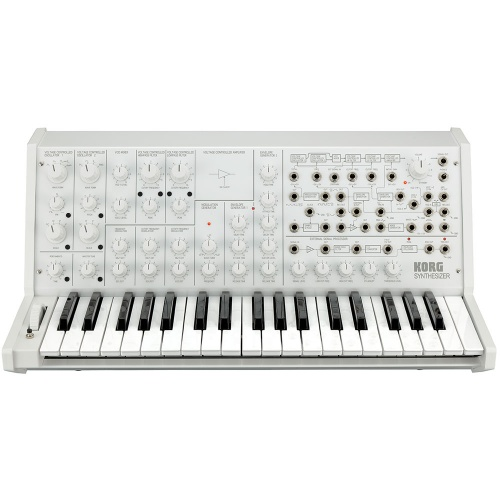 Korg MS-20 FS, Limited Edition Full Size Monophonic Synthesizer (White)
