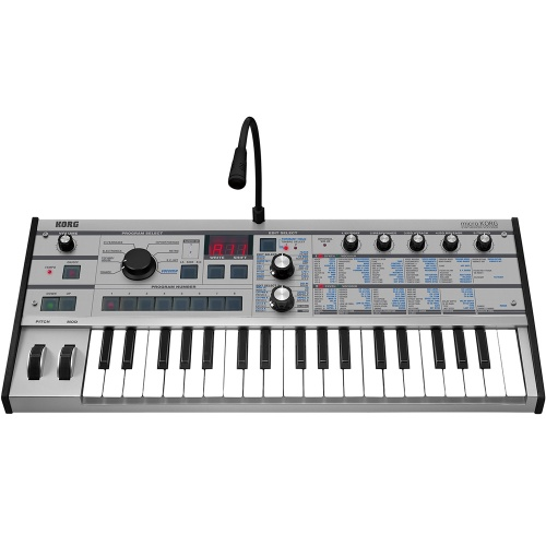 Korg MicroKorg Platinum Analogue Modelling Synthesizer, Limited Edition