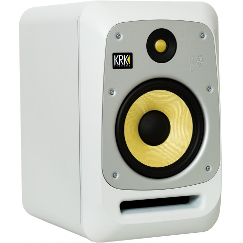 KRK V8-S4WN White Active Studio Monitor (Single)
