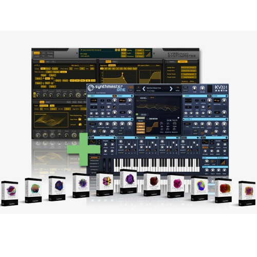 KV331 Audio Synthmaster Everything Bundle (Download)