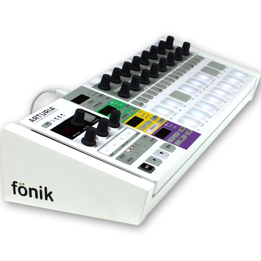 Fonik Audio Stand For Arturia Beatstep Pro (White)
