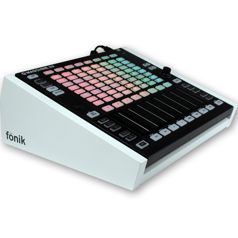 Fonik Audio Stand For NI Maschine Jam (White)