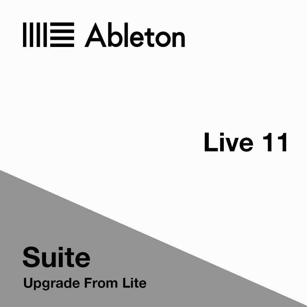 Ableton Live 11 Suite UPGRADE From Lite Software (Download)