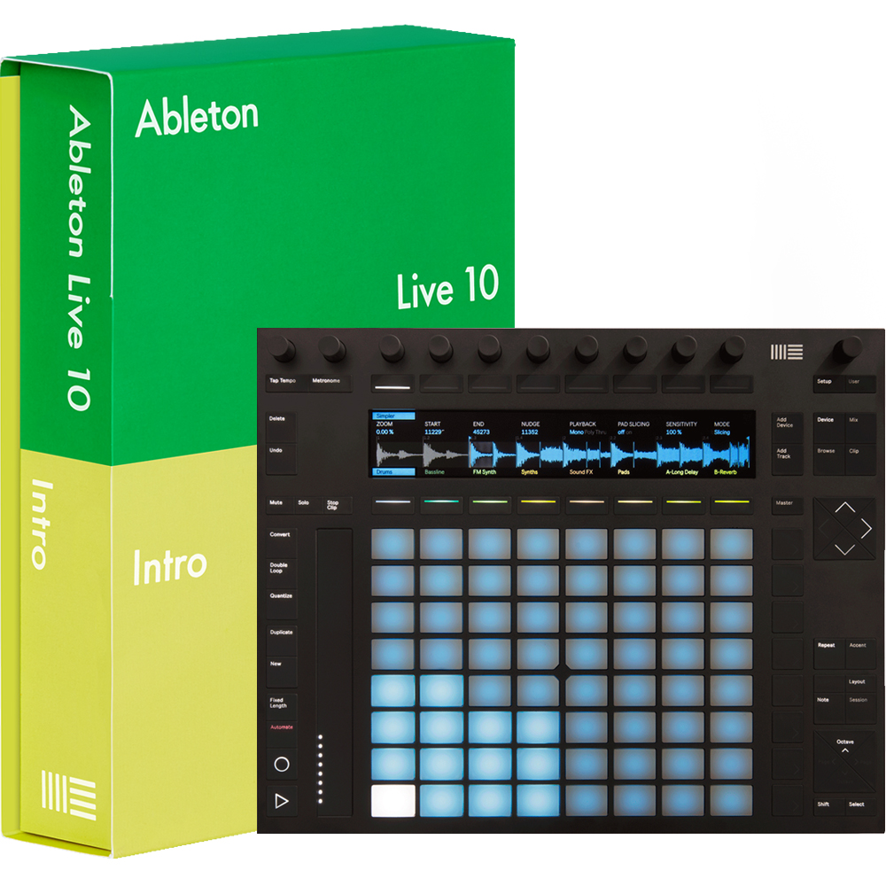Ableton Push 2 Music Production Controller + Ableton Live Intro 10