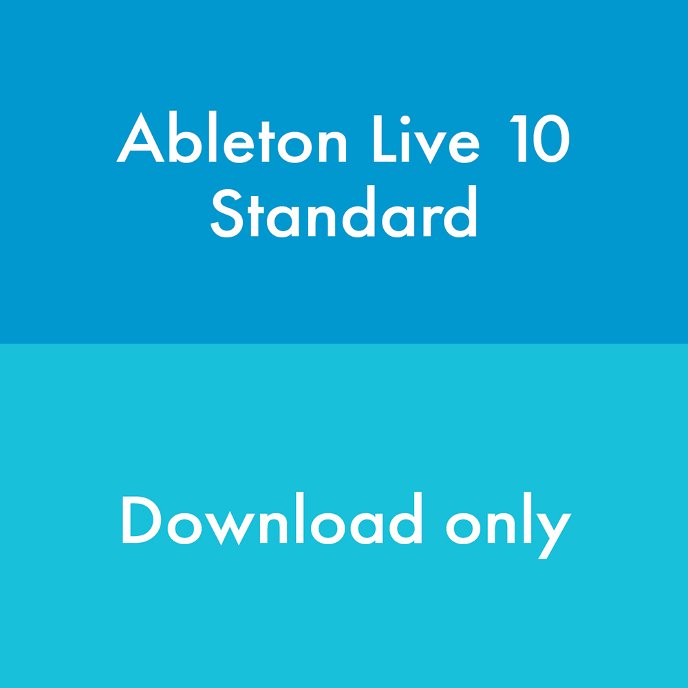 Ableton Live 10 Standard Software (Download)
