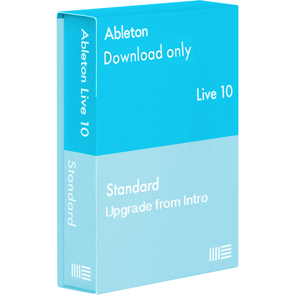 Ableton Live 10 Standard Software, Upgrade From Intro (Download)