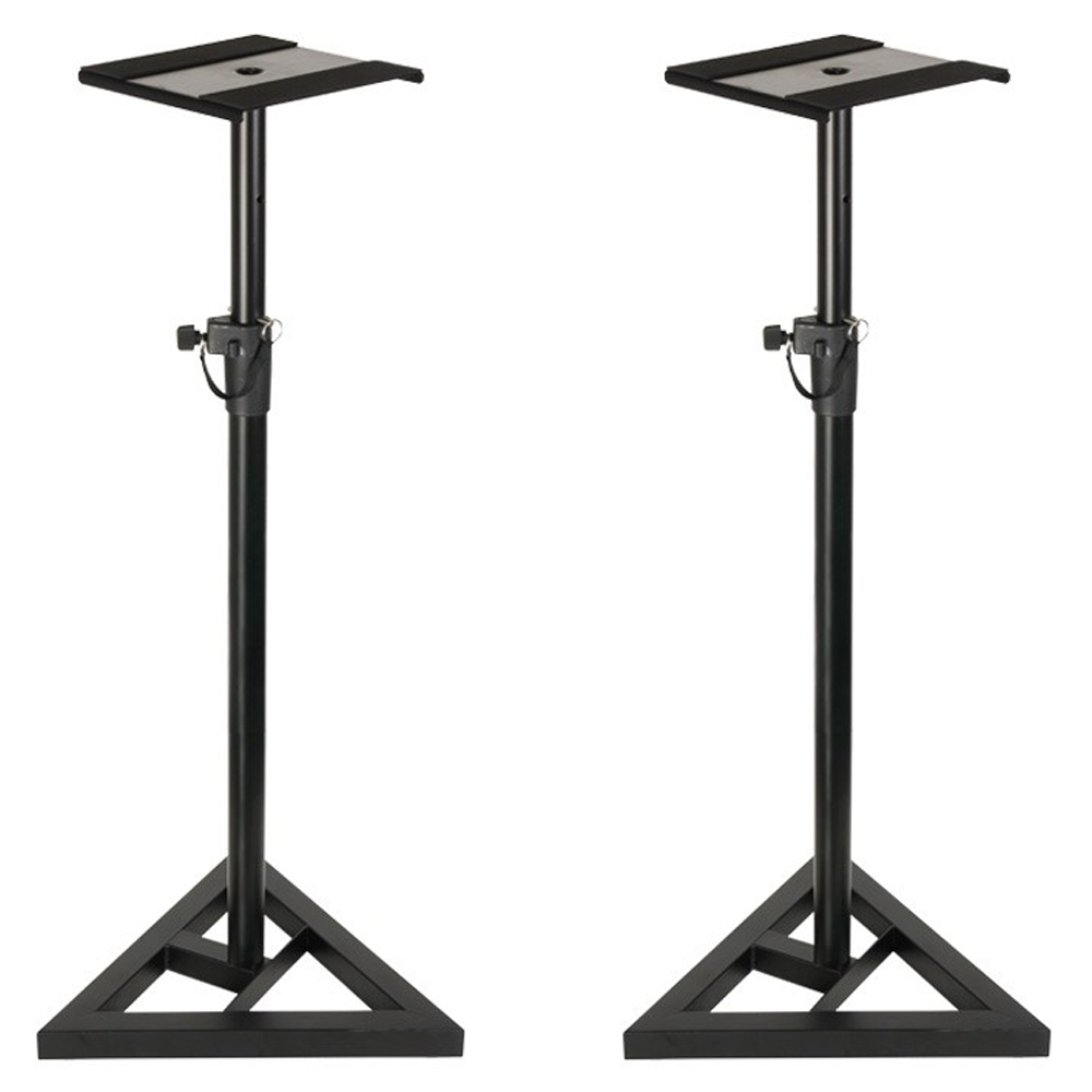 Adam Hall SKDB 039 Height Adjustable Studio Monitor Stands (Pair)