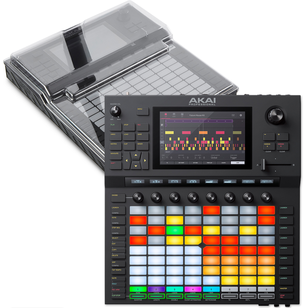 Akai Force, Standalone Music Production System + Decksaver Bundle Deal