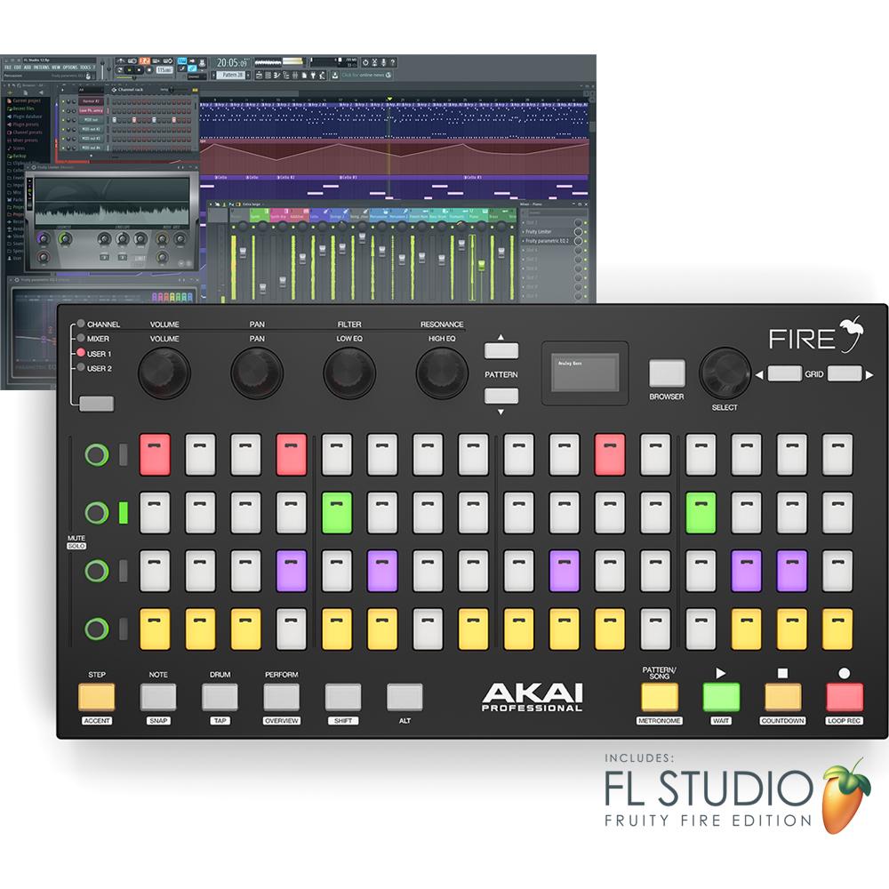 Akai Fire, Performance Controller For FL Studio