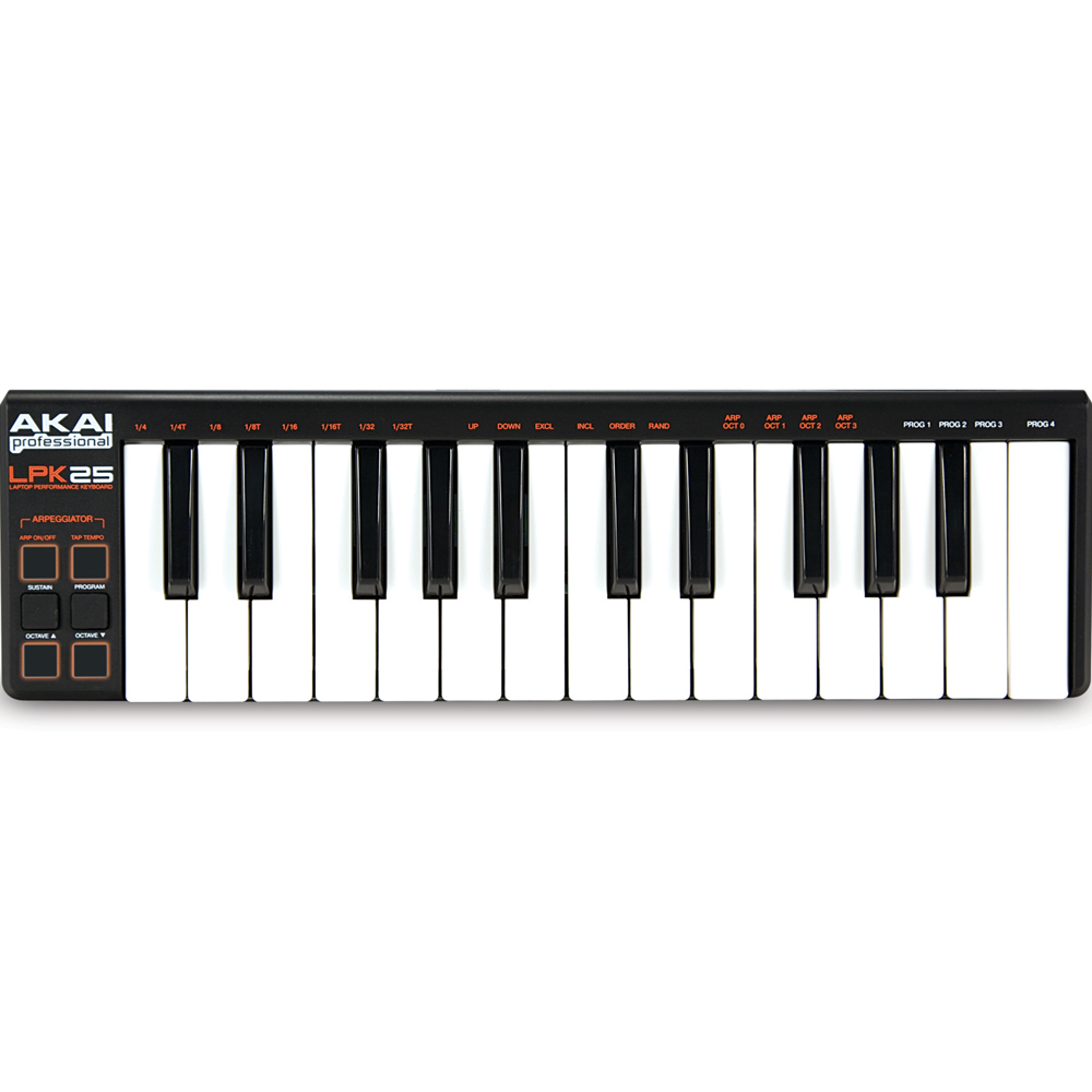 Akai LPK 25 Portable MIDI Keyboard