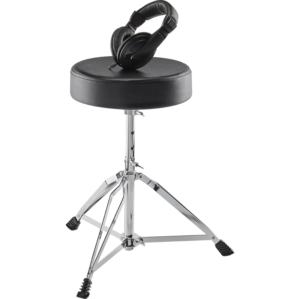 Alesis Drum Essentials Bundle (Stool & Headphones)