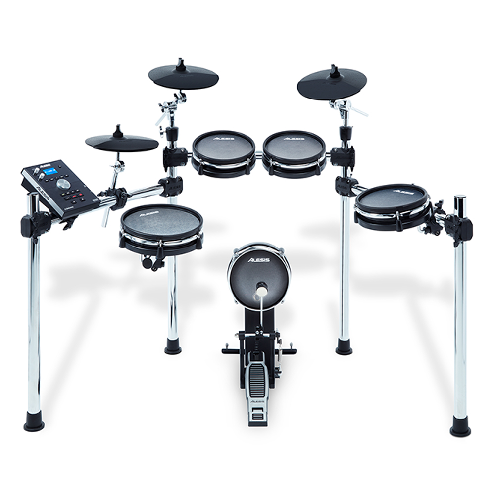 Alesis Command-MESH, 8 Piece Electronic Drum Kit With Mesh Heads