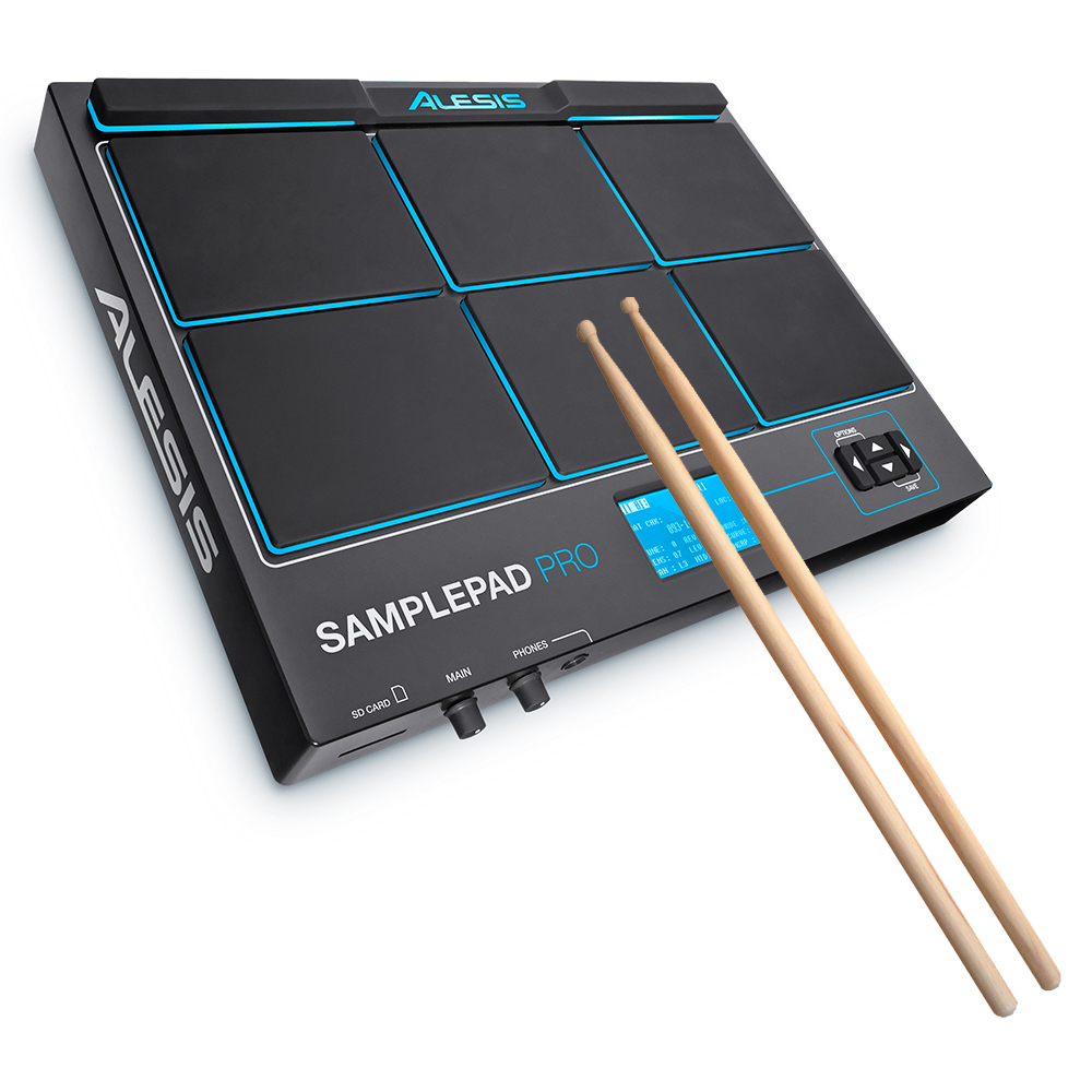 Alesis Sample Pad Pro Percussion Instrument + FREE Drumsticks