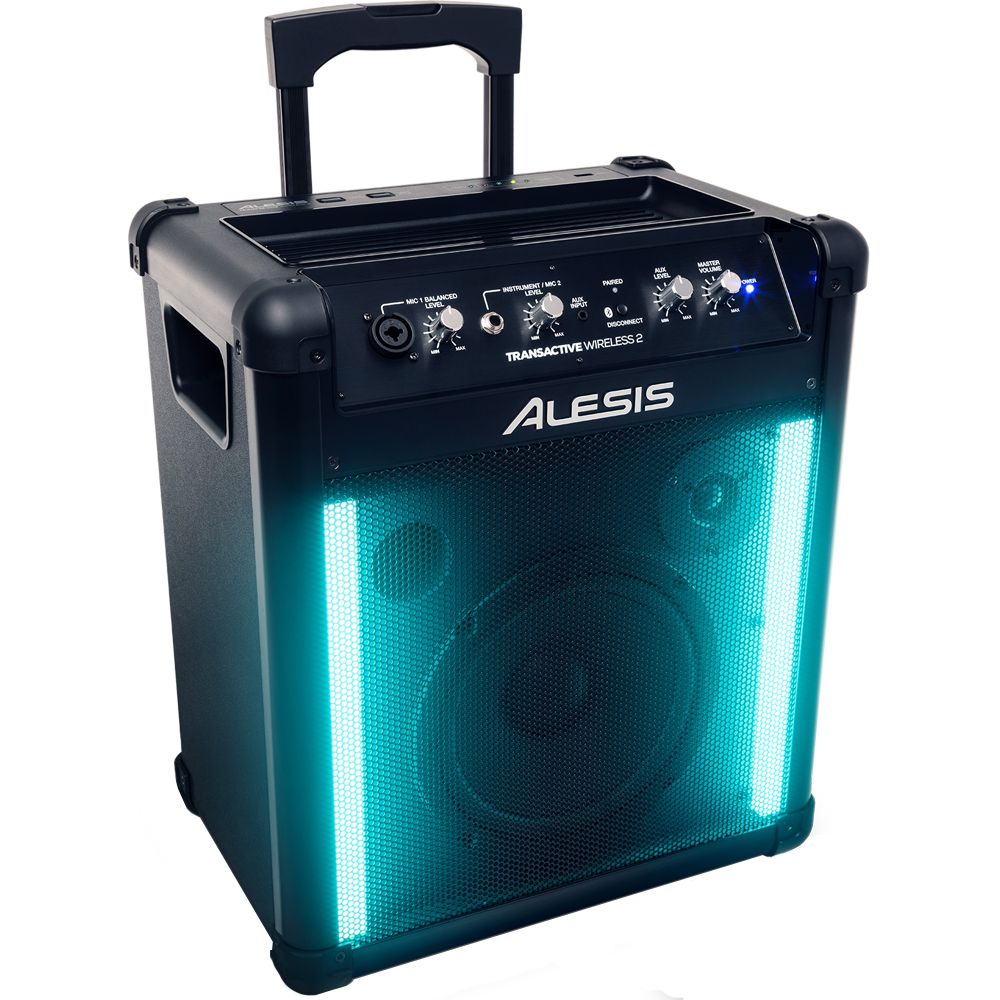 Alesis Transactive Wireless 2, Portable Powered Bluetooth Speaker System