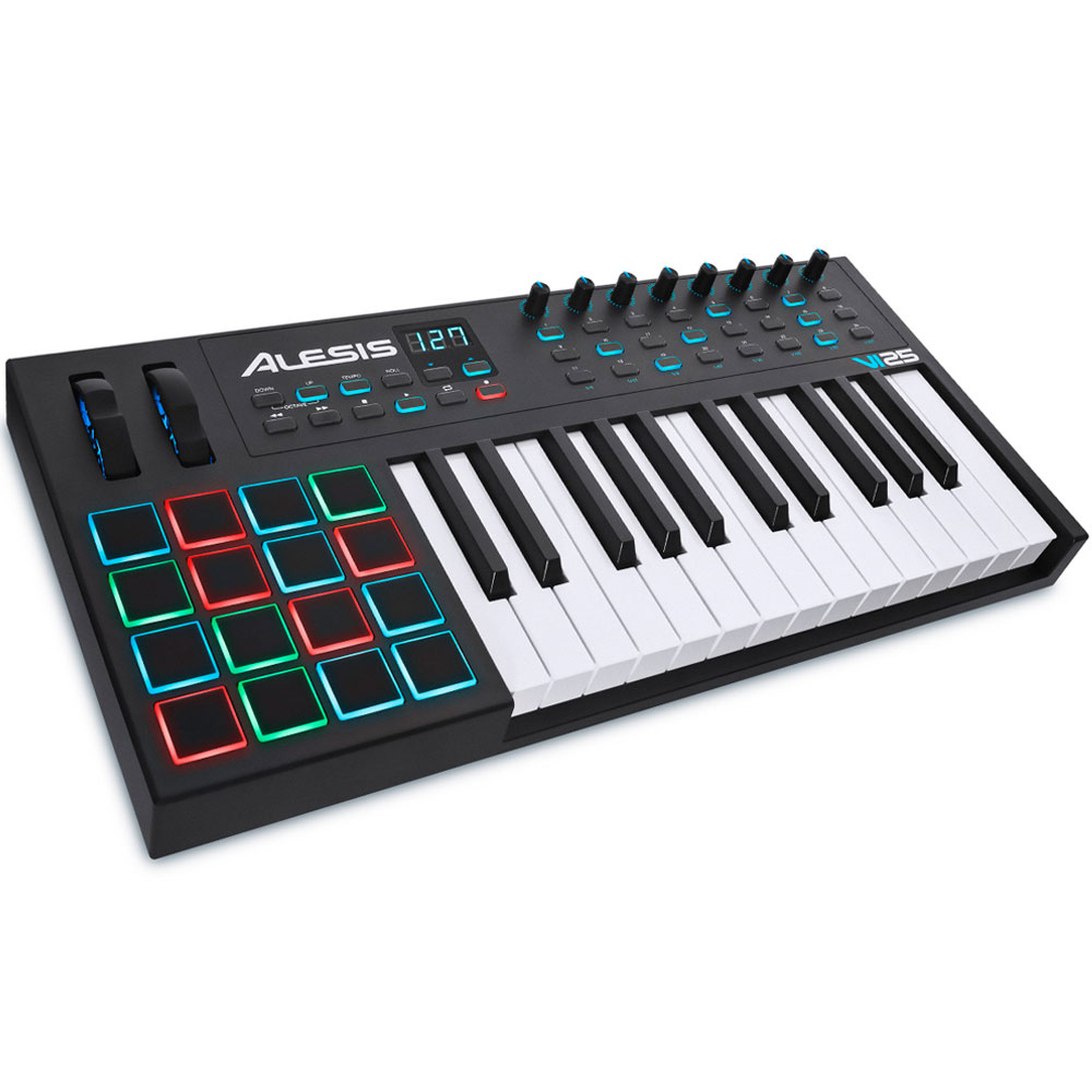 Alesis VI25 Advanced USB MIDI Keyboard