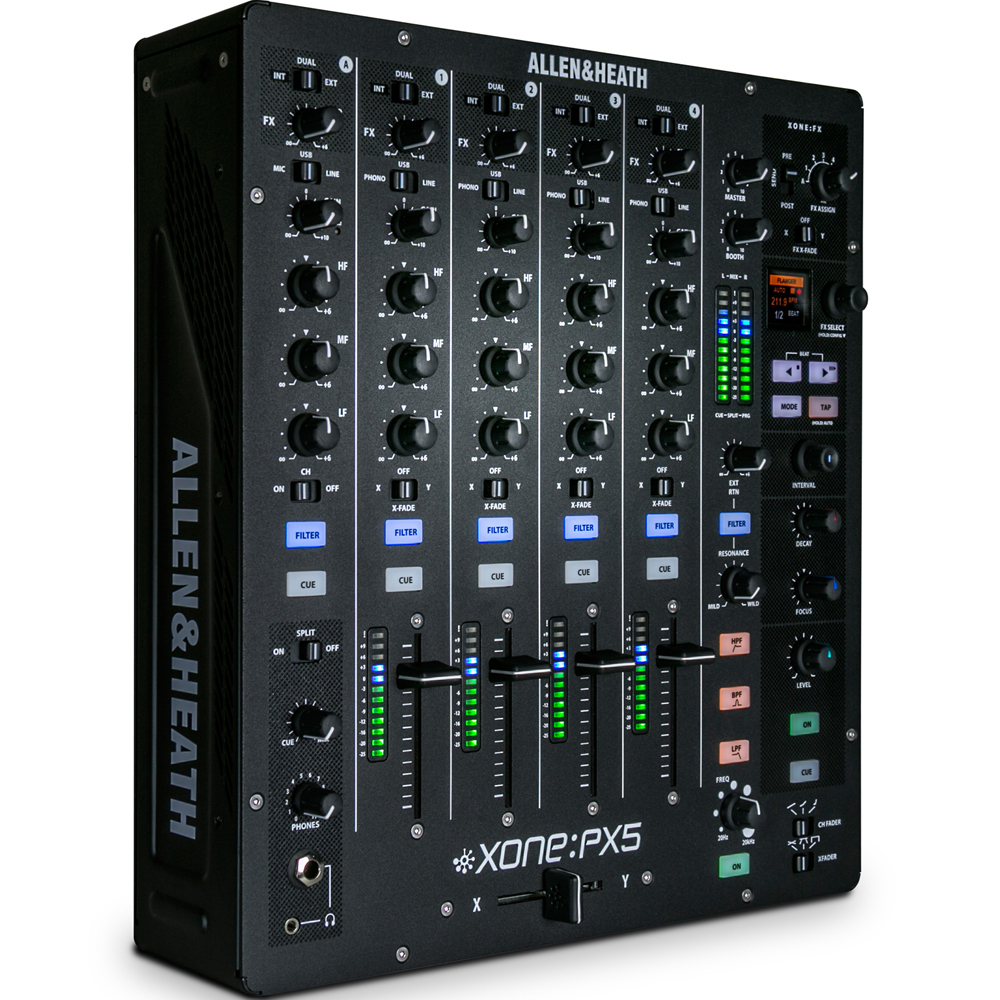 allen and heath xone px5 dj mixer soundcard the disc dj store. Black Bedroom Furniture Sets. Home Design Ideas