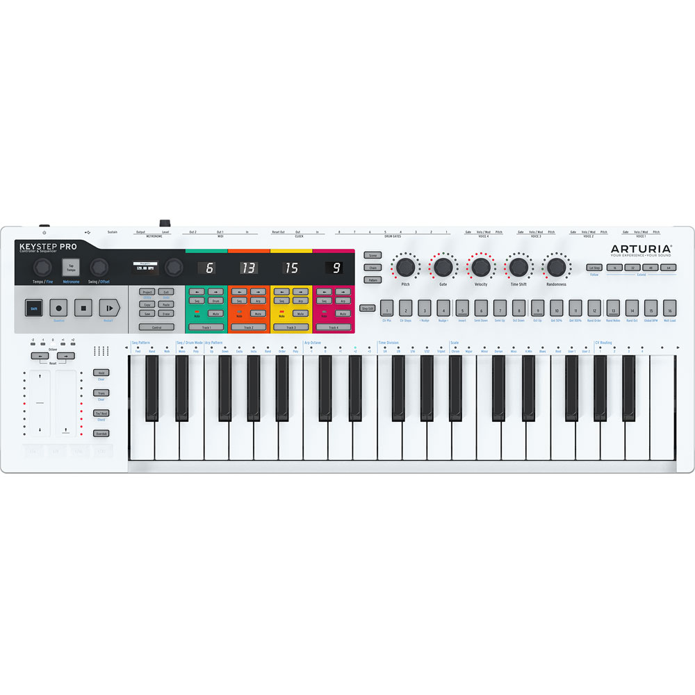 Arturia Keystep Pro, 37-Key Midi Controller & Polyphonic Sequencer