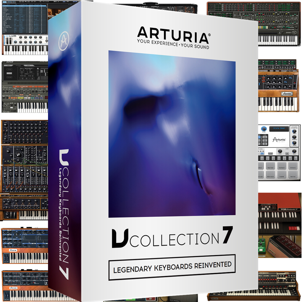 ​Arturia V Collection 7, Legendary Keyboards Reinvented (Download Only)