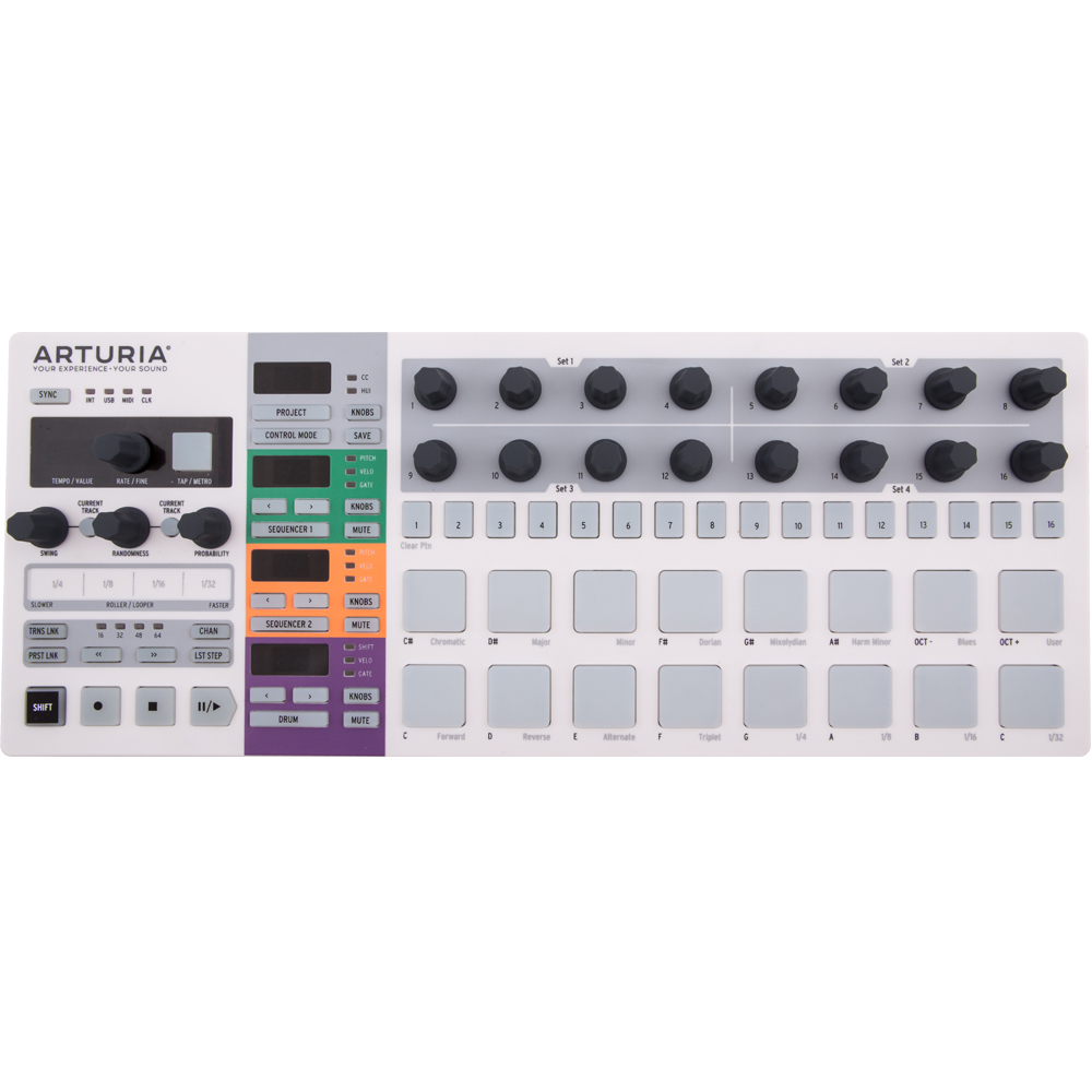 Arturia Beatstep Pro USB Controller, Performance Sequencer