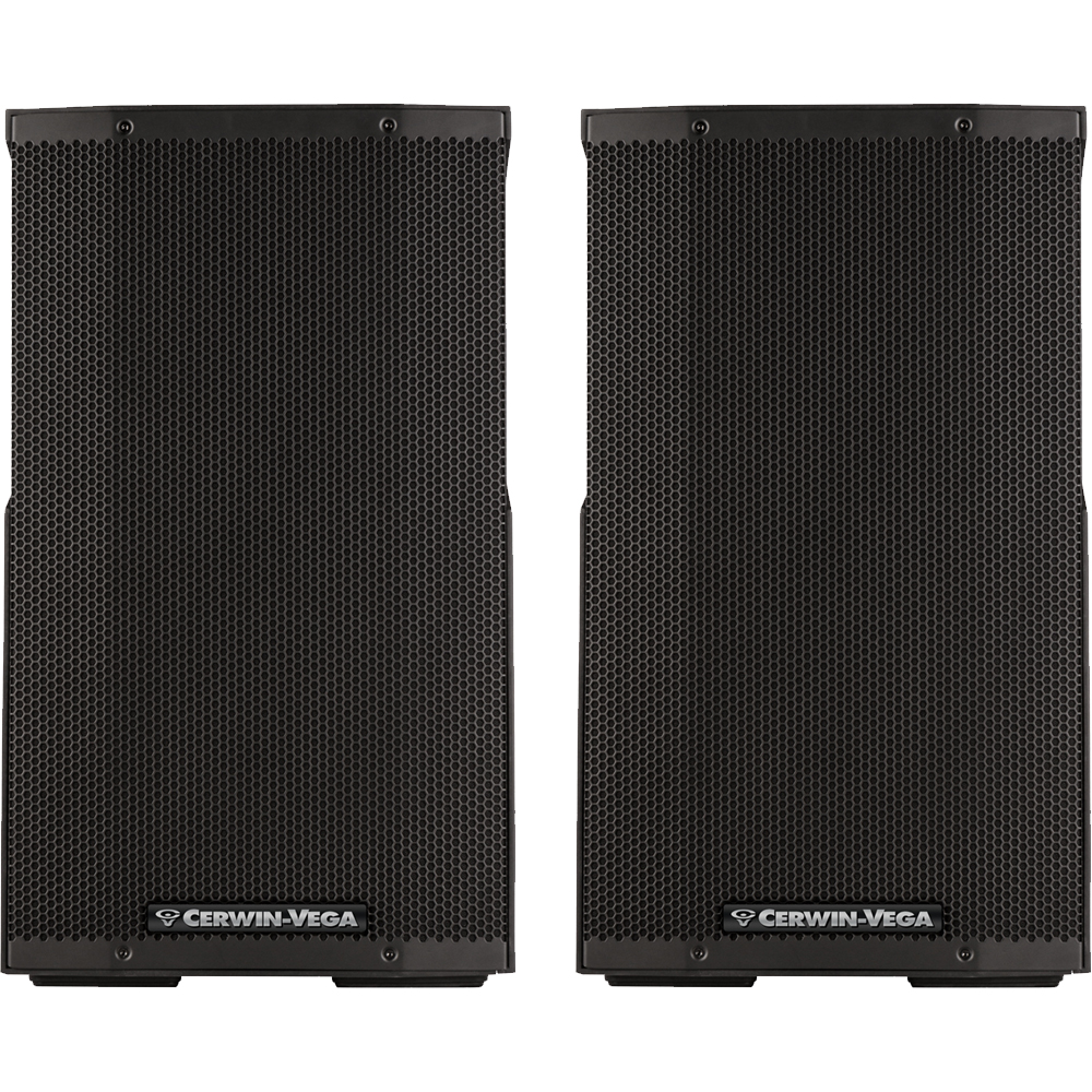 Cerwin Vega CVE-12, 1000w 12'' Active PA Speakers With Bluetooth (Pair)