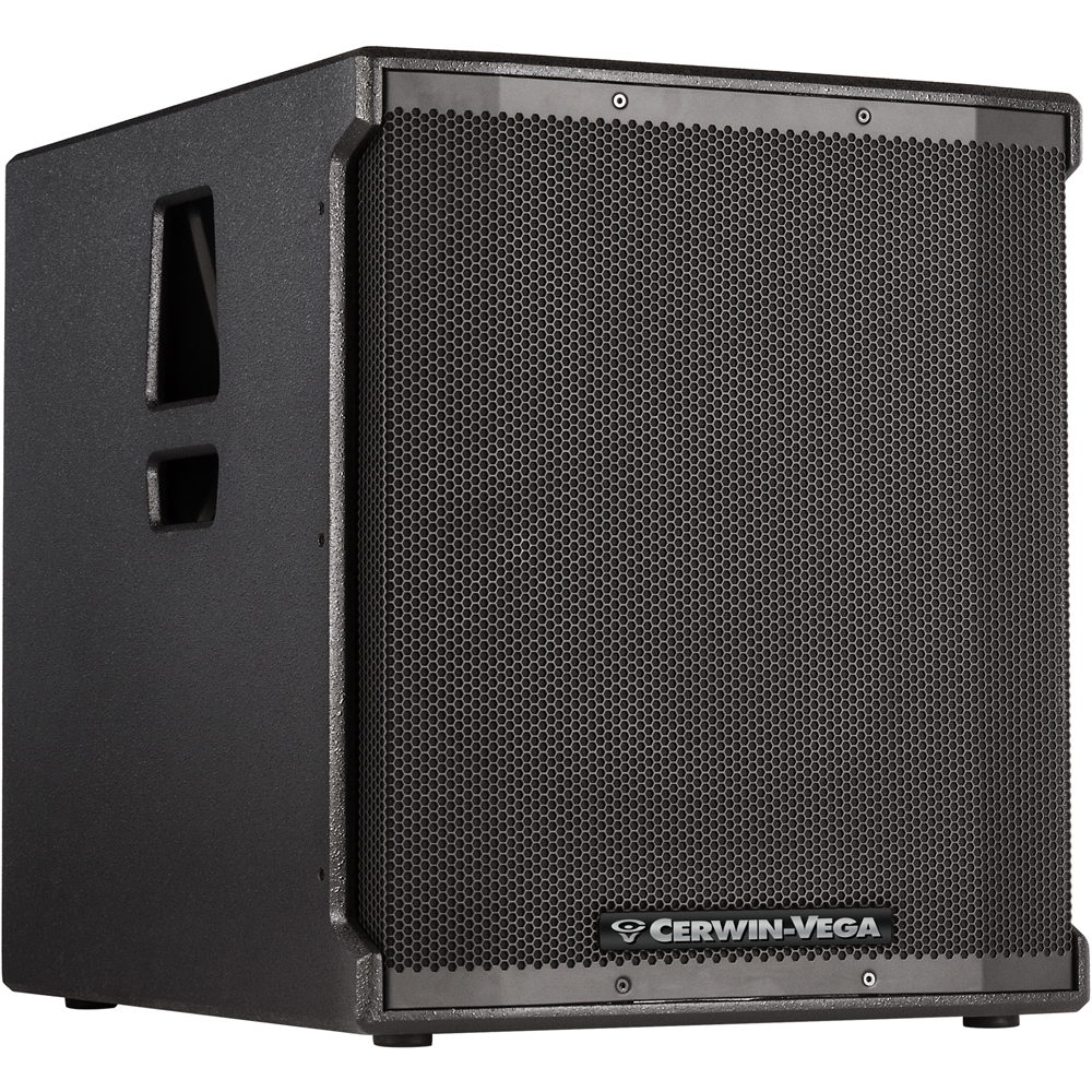 Cerwin Vega CVE-18S, 1000w 18'' Active Subwoofer With Bluetooth