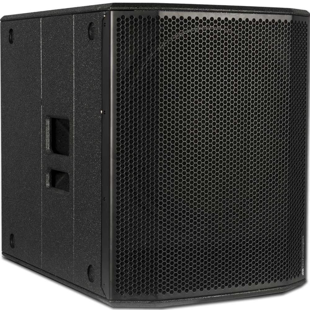 DB Technologies Sub 618, 600 Watt RMS Active Subwoofer (Single)