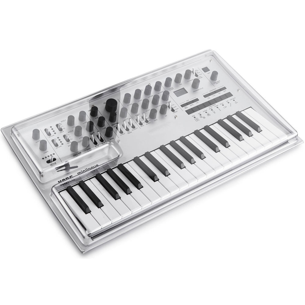Decksaver Cover For Korg Minilogue & Minilogue XD
