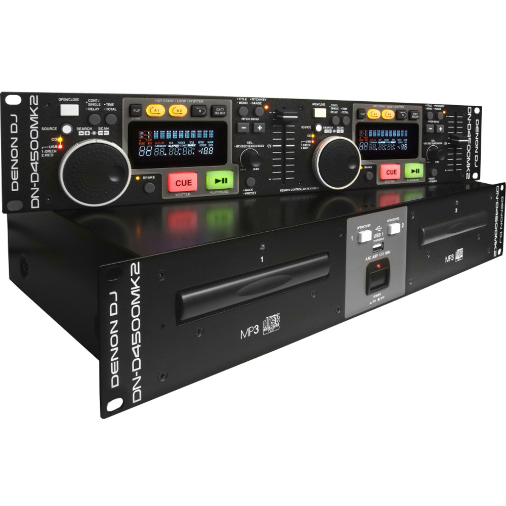 Denon D4500MK2 Rackmount Twin CD Players