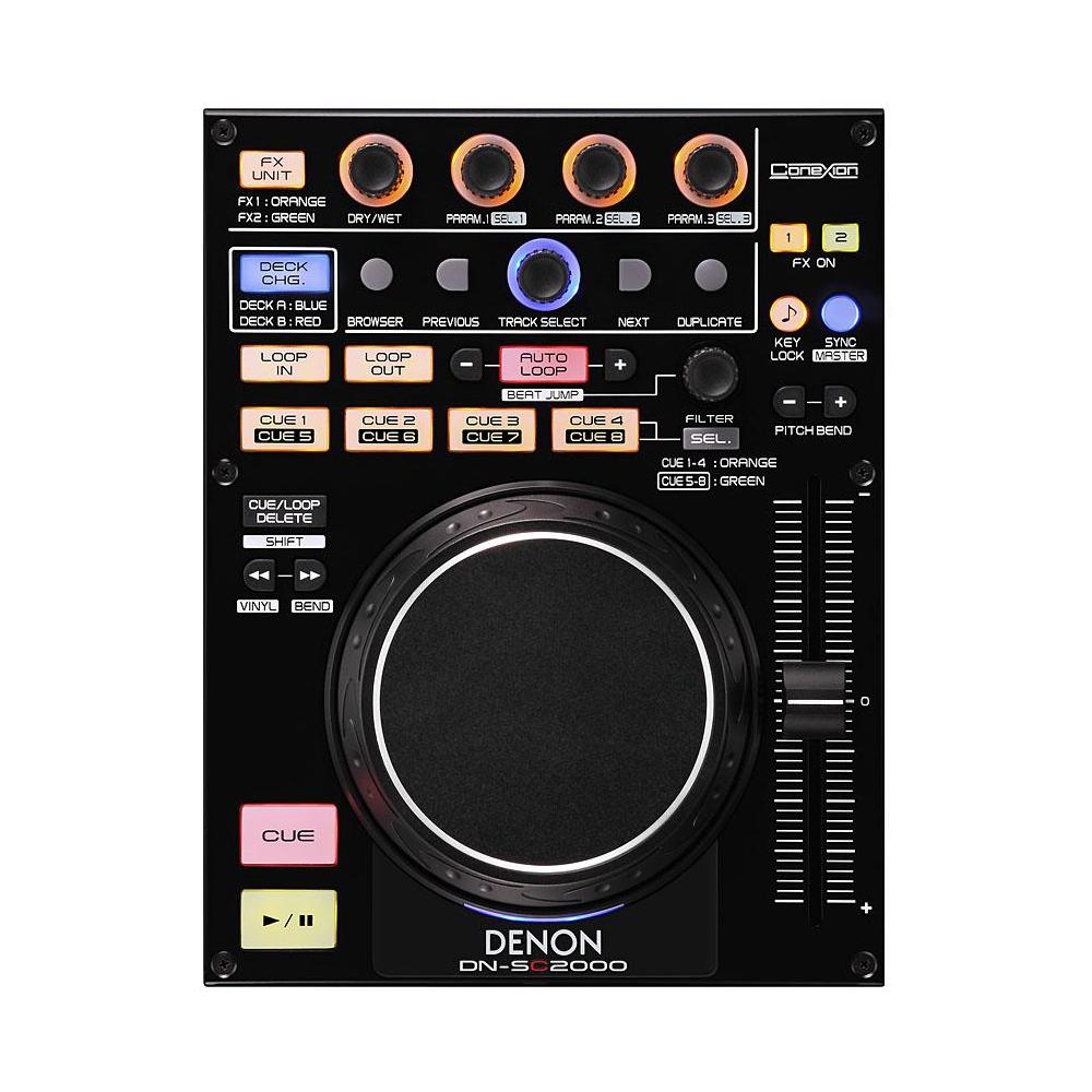 Denon SC2000 MIDI Controller inc  Mixvibes LE