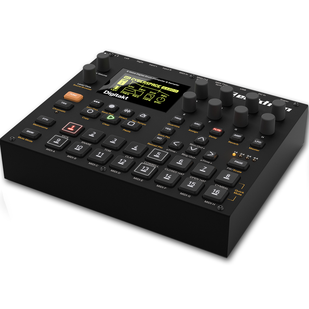 Elektron Digitakt, Drum Computer & Sampler