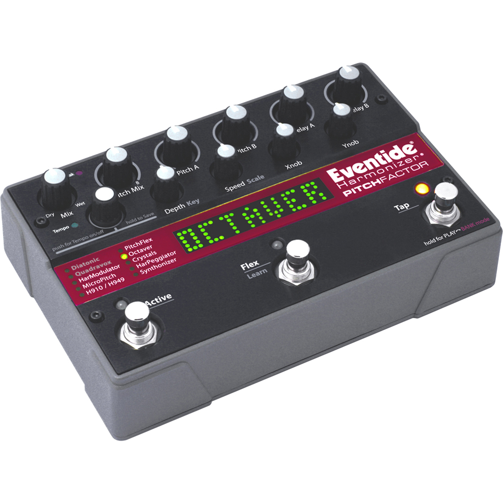 Eventide PitchFactor Harmonizer Pedal, Effects Processor