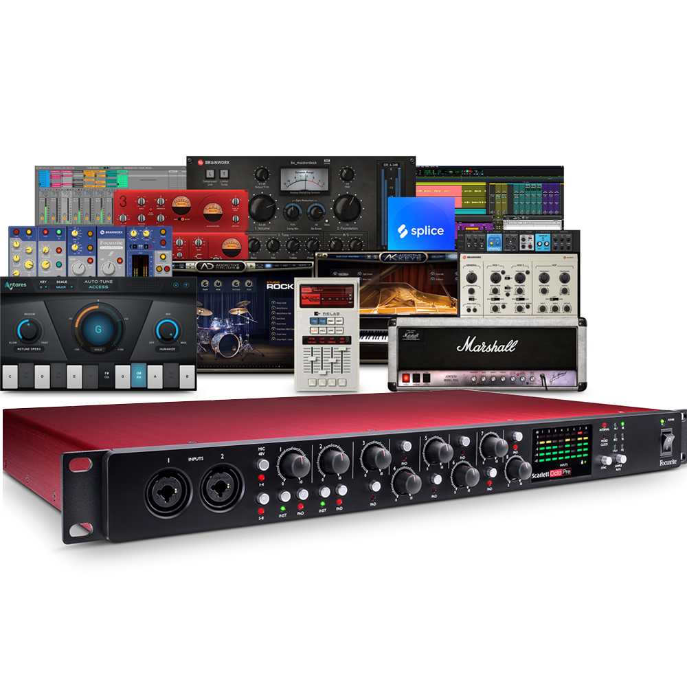Focusrite Scarlett OctoPre 8 Channel Mic Preamp with ADAT Connectivity