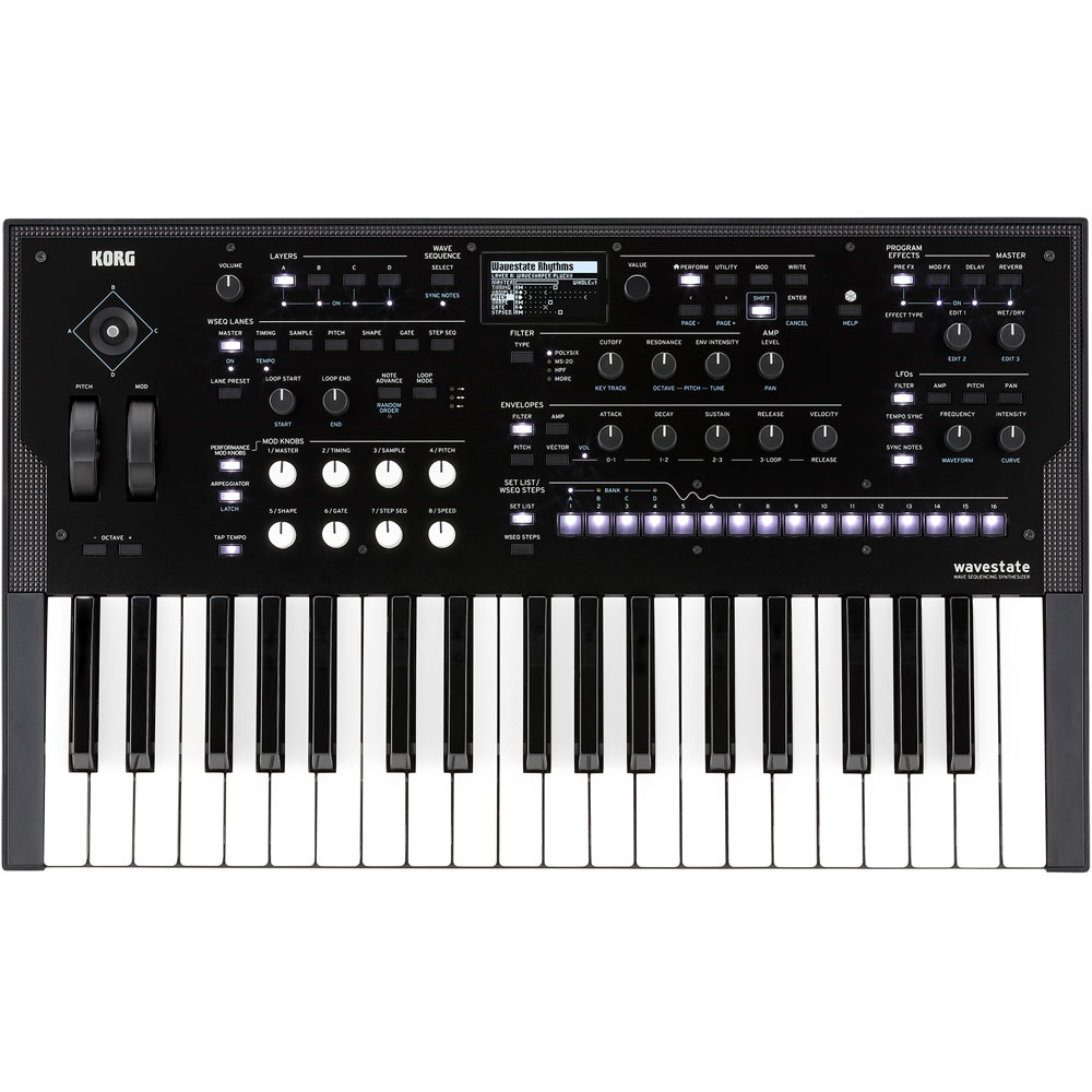 Korg Wavestate, Wave Sequencing 37-Key Synthesizer