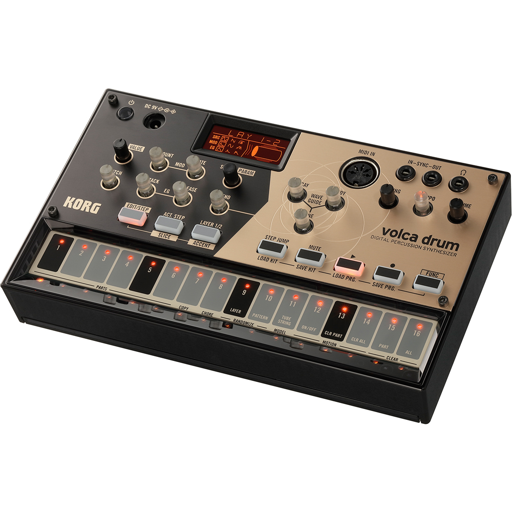 Korg Volca Drum, Digital Percussion Synthesizer