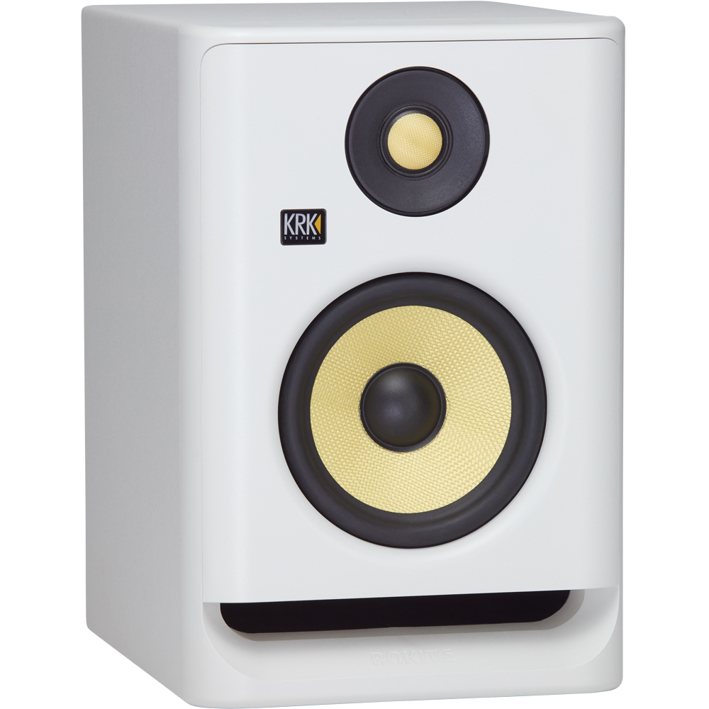 KRK Rokit RP5 G4 White Noise Active Studio Monitor (Single)