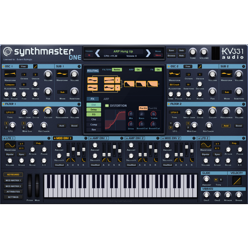 KV331 Audio Synthmaster One (Download)