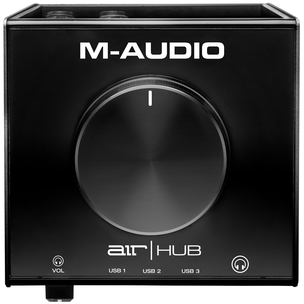 M-Audio Air Hub, USB Monitoring Interface With Built-In 3-Port Hub