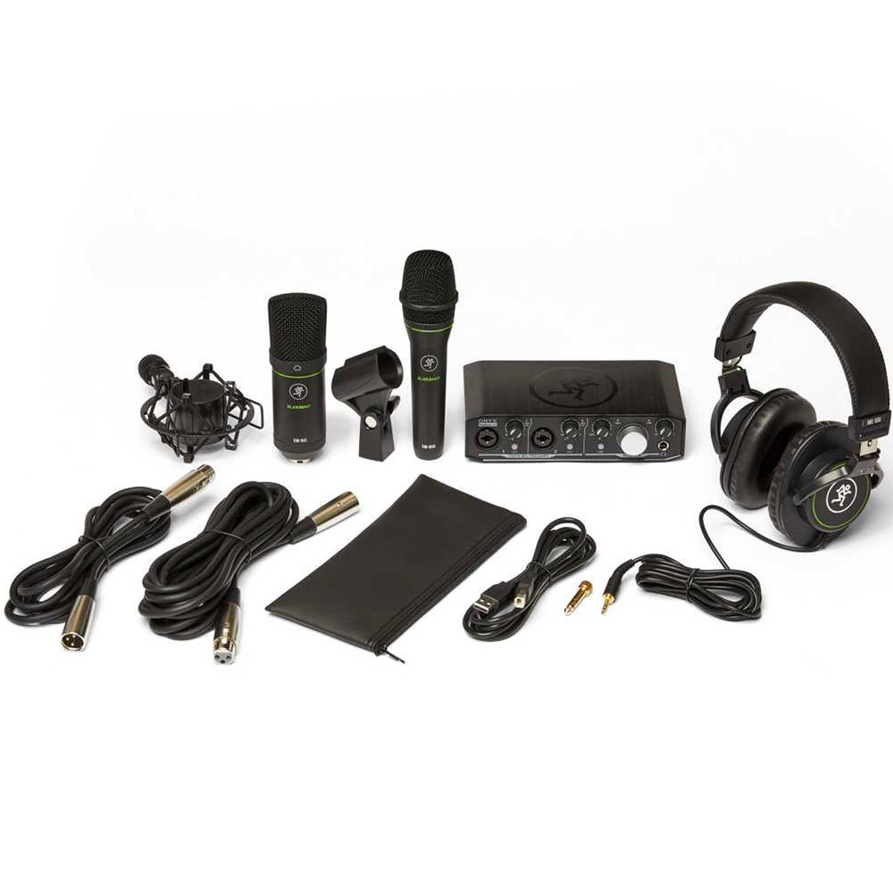 Mackie Producer Bundle - Audio Interface, Condenser Mic + Headphones