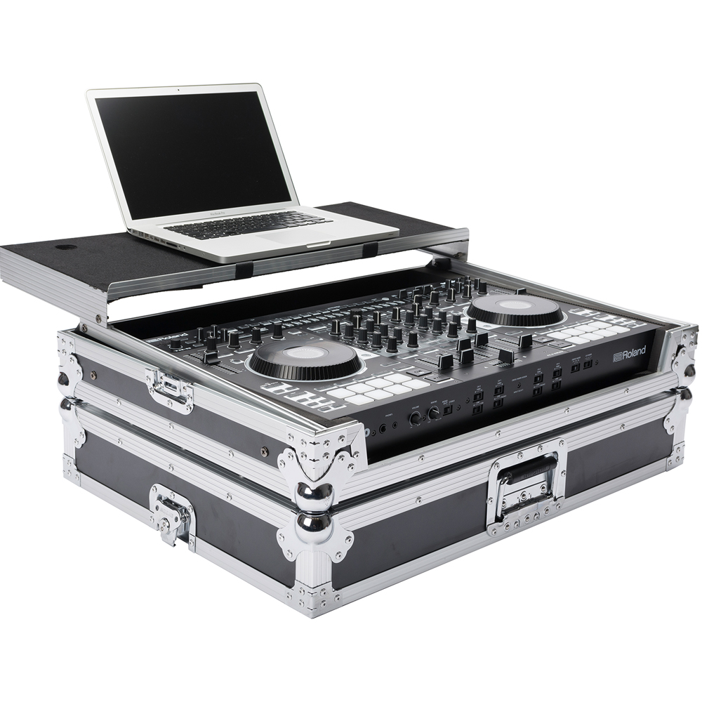 Magma DJ Controller Workstation Flightcase For Roland DJ-808