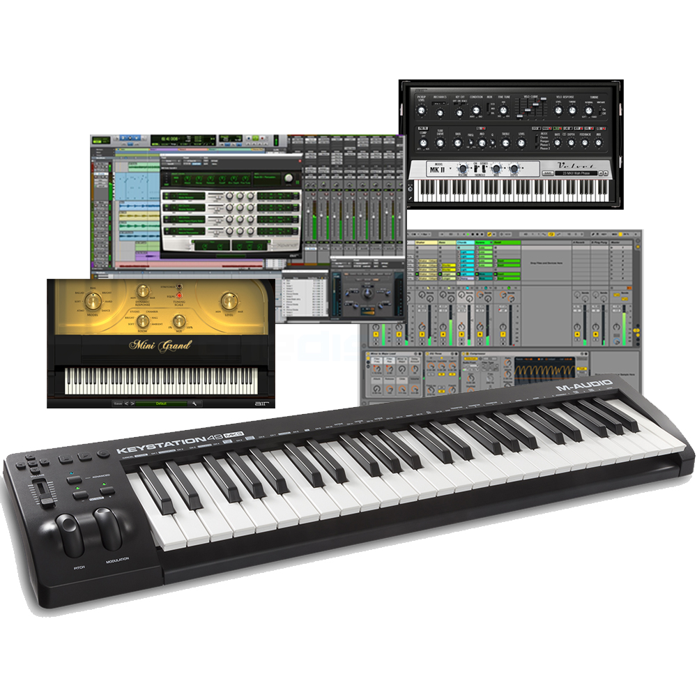 m audio keystation 49 mk3 the disc dj store. Black Bedroom Furniture Sets. Home Design Ideas
