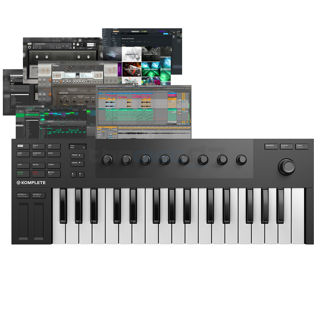 Native Instruments Komplete Kontrol M32 + Maschine Essentials