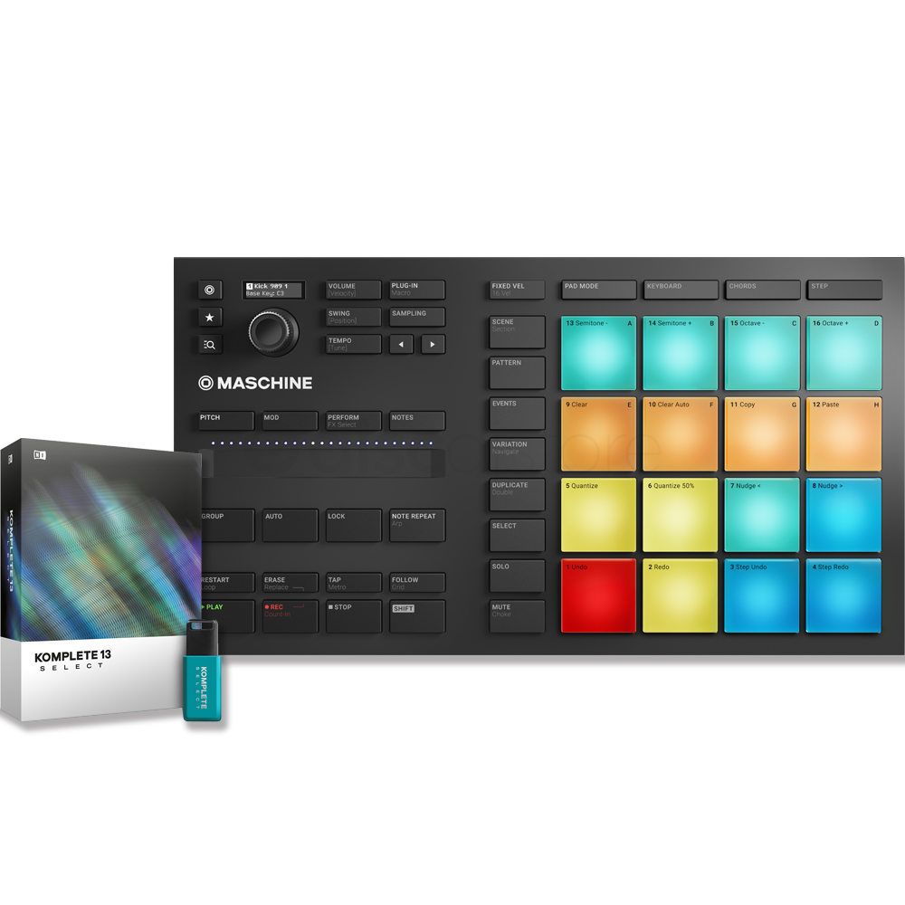 NI Maschine Mikro MK3 + Komplete 13 Select Bundle Deal