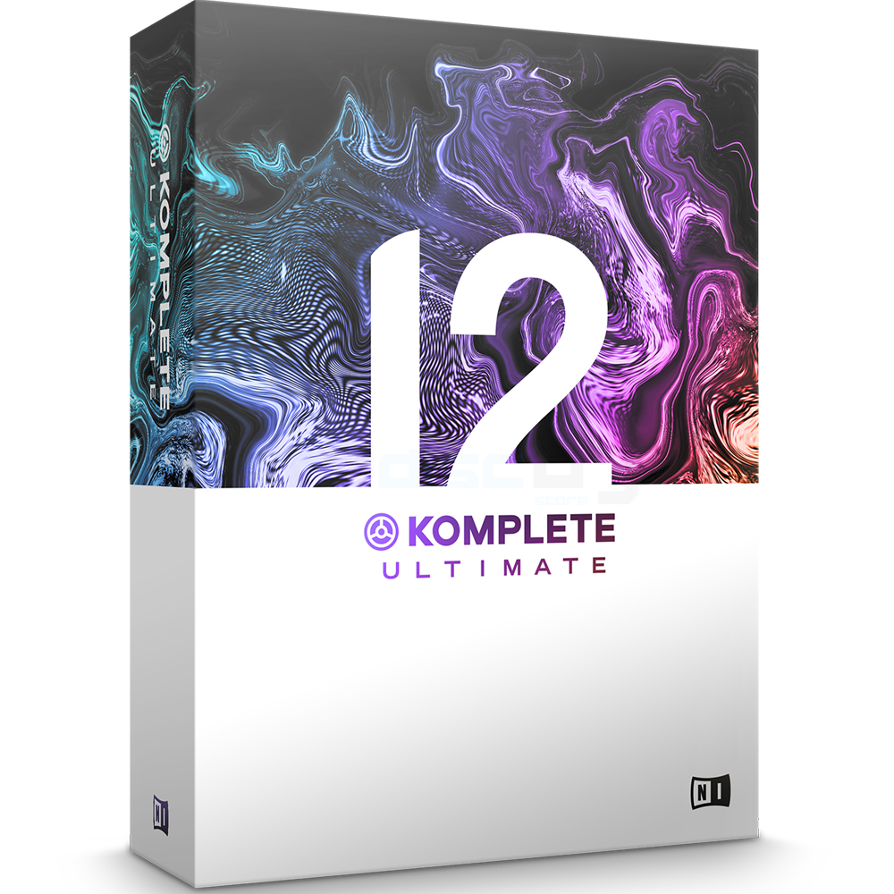 Native Instruments Komplete 12 Ultimate Update From KU8-11