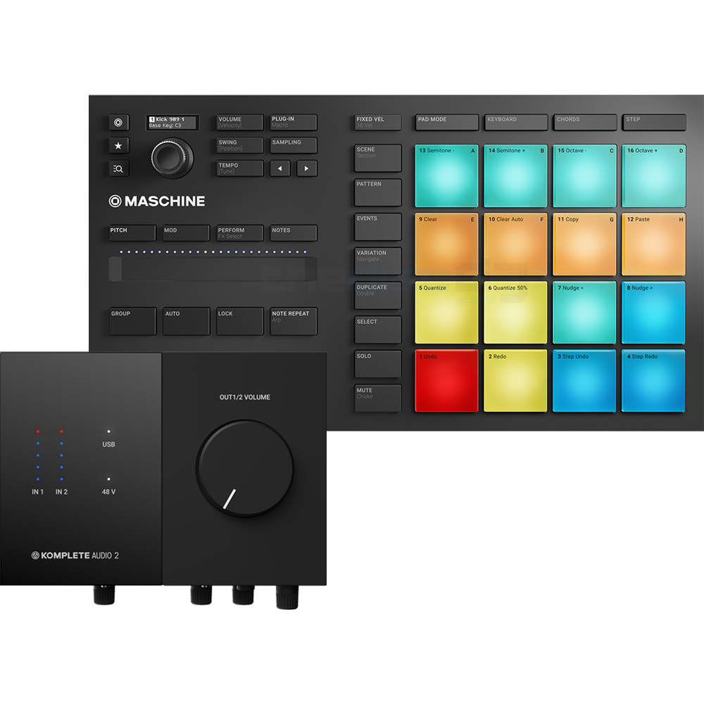 NI Maschine Mikro MK3 + Audio 2 Bundle Deal