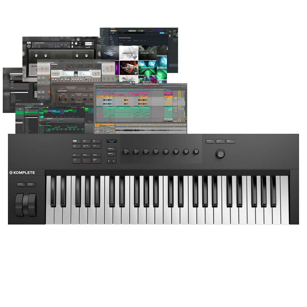 Native Instruments Kontrol A49 + Komplete Start & Maschine Essentials