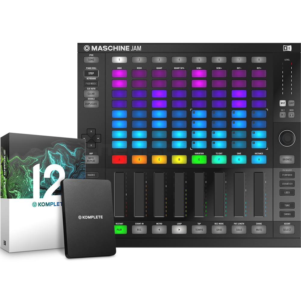 Native Instruments Maschine Jam + Komplete 12 Bundle