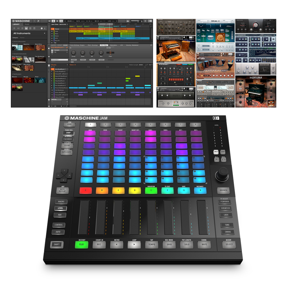 Native Instruments Maschine Jam + Komplete Select
